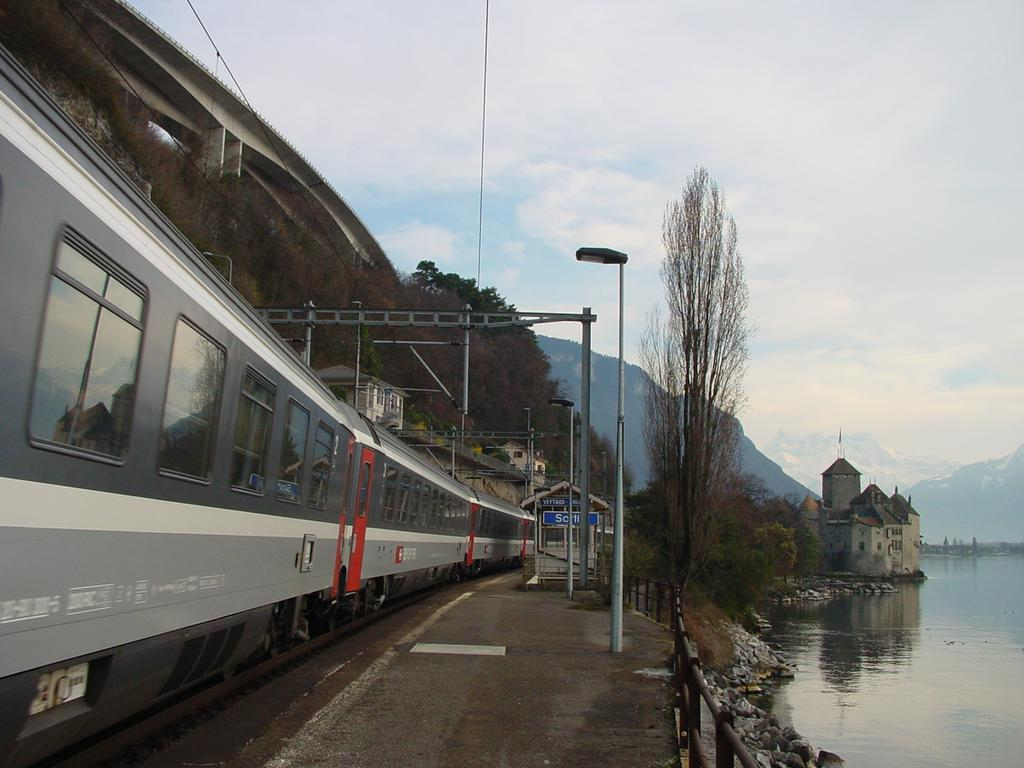 Photo d'une Atmosphère, Prise à Veytaux-Chillon le 12 mars 2002 04:45