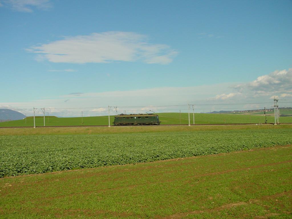 Photo d'une Ae 610 (Ae 6/6) 11403-11520, Prise à Arnex-sur-Orbe le 21 mars 2002 03:24