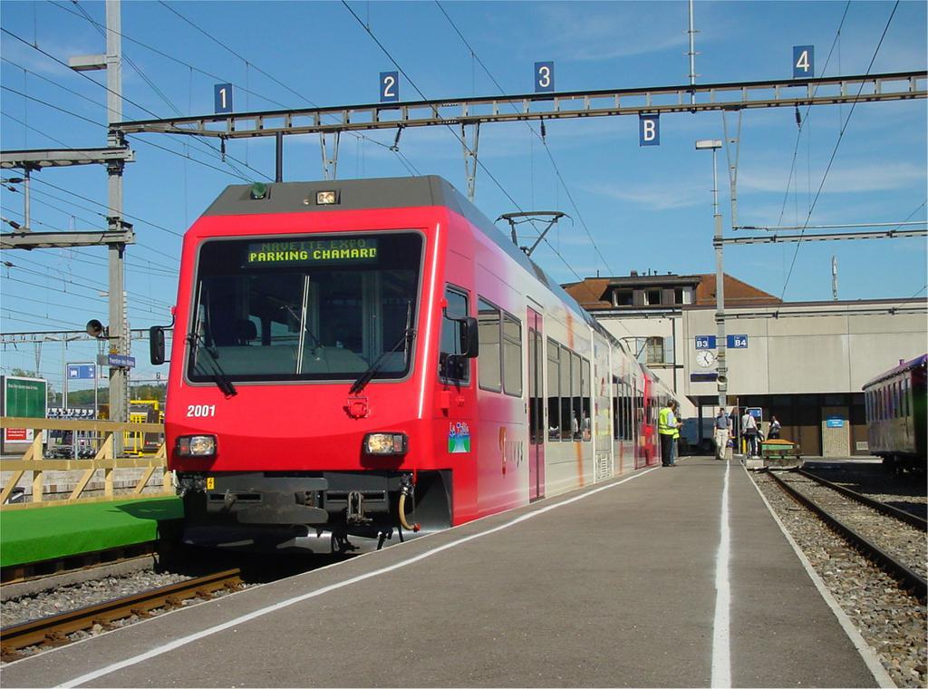 Photo d'une Be 2/6 ???, Prise à Yverdon-les-Bains le 14 mai 2002 05:04