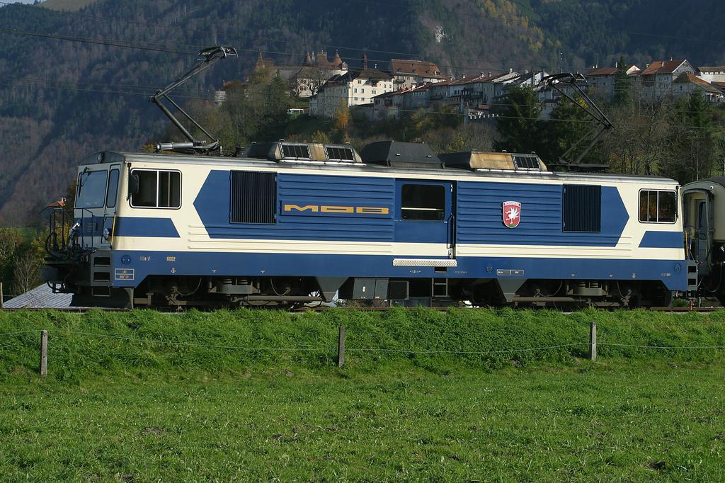 Photo d'une GDe 4/4 6001-6004, Prise à Gruyères le 30 octobre 2002 12:45