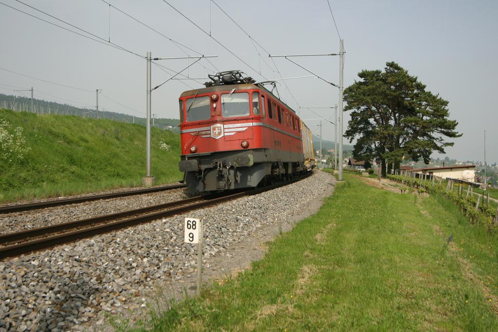 Photo d'une Ae 610 (Ae 6/6) 11403-11520, Prise à Auvernier le 7 mai 2003 03:19