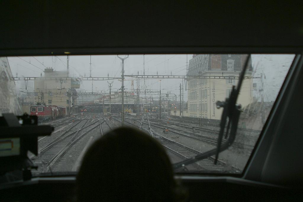 Photo d'une RABDe 500 000-043, Prise à Lausanne le 8 mars 2004 05:34