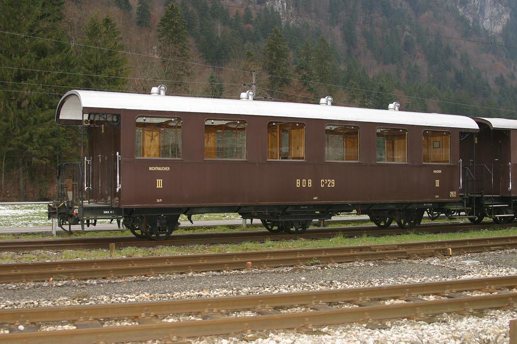 Photo d'une C 3, Prise à Zweilütschinen le 29 novembre 2004 02:22