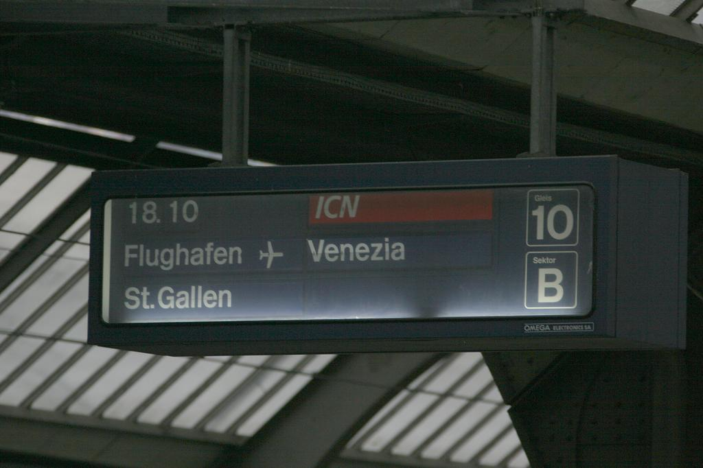Photo d'une Atmosphère, Prise à Zürich HB le 11 mars 2005 05:52