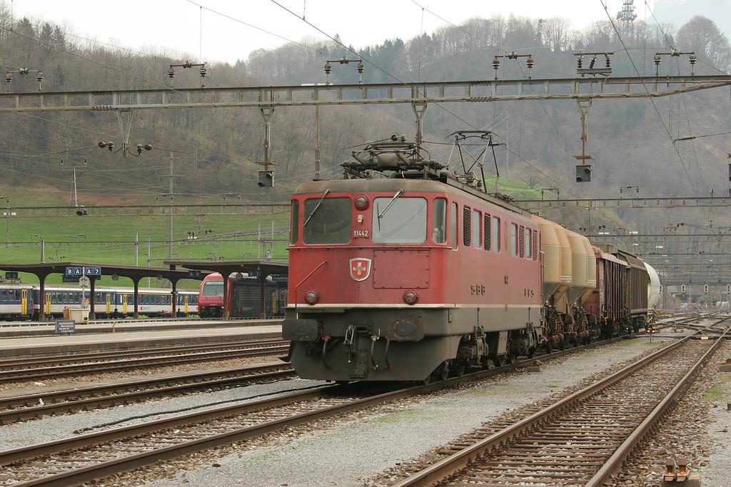 Photo d'une Ae 610 (Ae 6/6) 11403-11520, Prise à Ziegelbrücke le 7 avril 2005 01:43