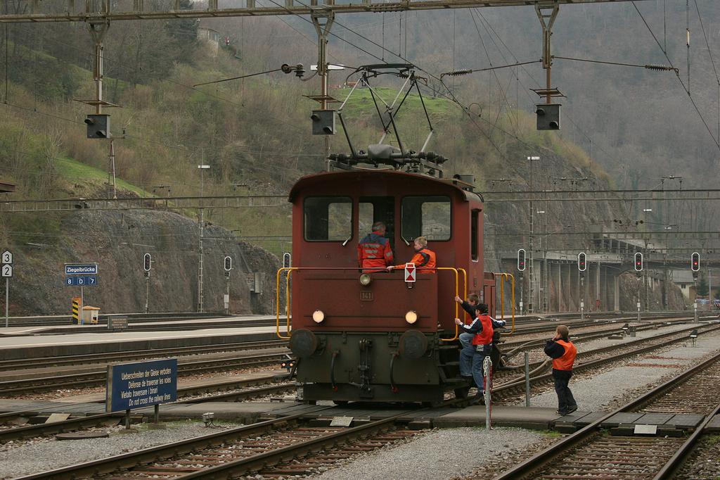 Photo d'une Te III, Prise à Ziegelbrücke le 7 avril 2005 03:25