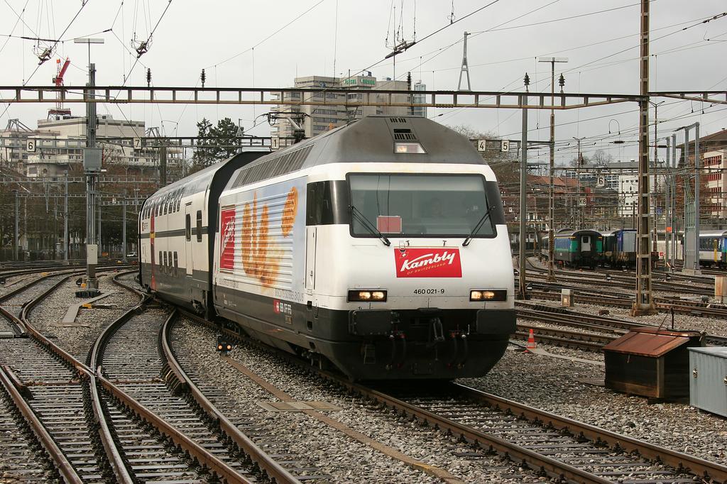 Photo d'une Re 460 000-118, Prise à Bern le 17 mars 2008 12:31