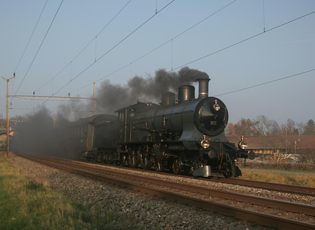 Photo d'une A 3/5 705, Prise à Céligny le 16 novembre 2008 02:59