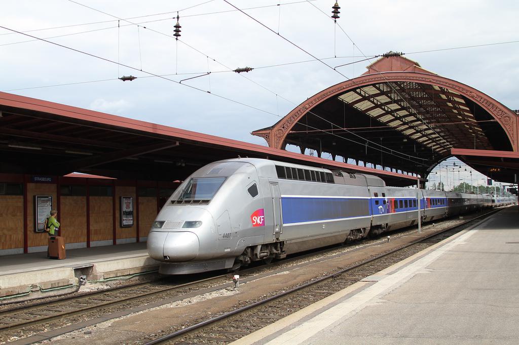 Photo d'une TGV, Prise à Strabourg le 11 août 2010 12:41