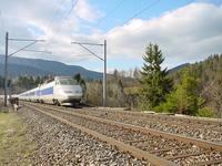"""photo d'une """"TGV"""" prise à Le Day"""