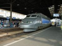 """photo d'une """"TGV"""" prise à Lausanne"""