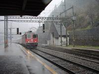 """photo d'une """"Re 620 (Re 6/6) 11605-11689"""" prise à Göschenen"""
