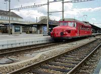 """photo d'une """"RBe 2/4 202"""" prise à Biel/Bienne"""
