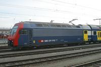 """photo d'une """"Re 450 000-114"""" prise à Yverdon-les-Bains"""