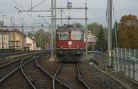 """photo d'une """"Re 420 (Re 4/4 II) 11101-11155"""" prise à Yverdon-les-Bains"""