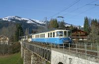"""photo d'une """"ABDe 8/8 4001-4004"""" prise à Gstaad"""