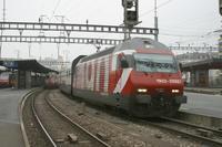 """photo d'une """"Re 460 000-118"""" prise à Genève"""