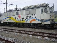 """photo d'une """"Ae 411 001-018"""" prise à Etzwilen"""