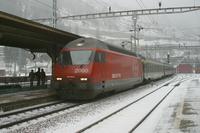 """photo d'une """"Re 460 000-118"""" prise à Göschenen"""