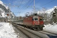 "photo d'une ""Re 420 (Re 4/4 II) 11156-11171 11173-11281 11283-11311 11313-11349 11371-11397"" prise à Kandersteg"