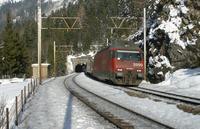 """photo d'une """"Re 460 000-118"""" prise à Kandersteg"""