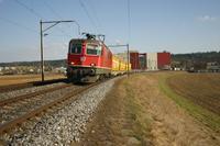 """photo d'une """"Re 420 (Re 4/4 II) 11156-11171 11173-11281 11283-11311 11313-11349 11371-11397"""" prise à Busswil"""