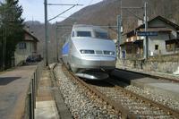 """photo d'une """"TGV"""" prise à Champ-du-Moulin"""