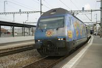 """photo d'une """"Re 460 000-118"""" prise à Yverdon-les-Bains"""