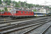 """photo d'une """"Re 620 (Re 6/6) 11605-11689"""" prise à St. Gallen"""