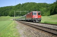 """photo d'une """"Re 420 (Re 4/4 II) 11156-11171 11173-11281 11283-11311 11313-11349 11371-11397"""" prise à Burgdorf"""