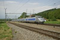 """photo d'une """"TGV"""" prise à Daillens"""