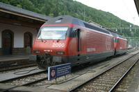 """photo d'une """"Re 460 000-118"""" prise à Vallorbe"""