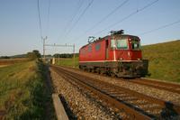 "photo d'une ""Re 430 (Re 4/4 III) 11350-11370"" prise à Daillens"