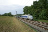 """photo d'une """"TGV"""" prise à Vufflens-la-Ville"""