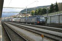 """photo d'une """"Re 465 001-018"""" prise à Thun"""