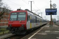 """photo d'une """"RBDe 560 001-083 100-135"""" prise à Boncourt"""