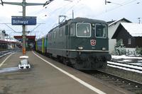 """photo d'une """"Re 420 (Re 4/4 II) 11101-11155"""" prise à Schwiz"""