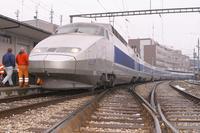 """photo d'une """"TGV"""" prise à Bulle"""