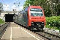 """photo d'une """"Re 450 000-114"""" prise à Zürich Wipkingen"""