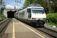 """photo d'une """"Re 460 000-118"""" prise à Zürich Wipkingen"""