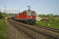 """photo d'une """"Re 430 (Re 4/4 III) 11350-11370"""" prise à Céligny"""