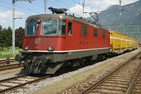 "photo d'une ""Re 430 (Re 4/4 III) 11350-11370"" prise à Martigny"
