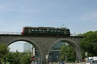 """photo d'une """"RBe 4/4 1401-1406"""" prise à Lausanne-Sébeillon"""