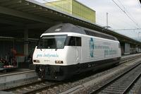 """photo d'une """"Re 460 000-118"""" prise à Zurich HB"""