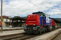 """photo d'une """"Am 843"""" prise à Delémont"""