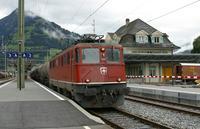 "photo d'une ""Ae 610 (Ae 6/6) 11403-11520"" prise à Frutigen"