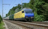 """photo d'une """"Re 460 000-118"""" prise à Heustrich-Emdthal"""