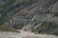 """photo d'une """"TGV"""" prise à Leuk"""