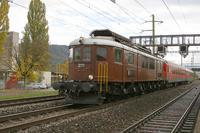 """photo d'une """"Ae 6/8 208"""" prise à Lerchenfeld"""