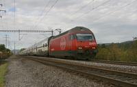 """photo d'une """"Re 460 000-118"""" prise à Wichtrach"""